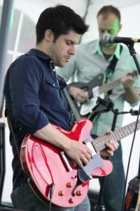 Band lead guitar Andrew